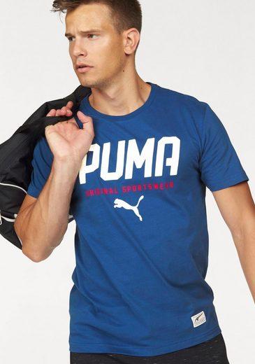 PUMA T-Shirt STYLE TEC GRAPHIC TEE