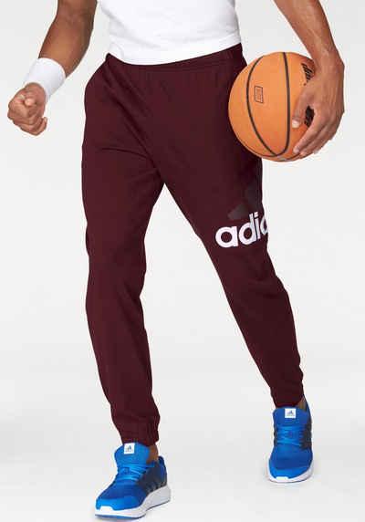 adidas Performance Jogginghose »ESSENTIALS PERFORMANCE LOGO TAPERED SINGLE JERSEY PANT« Sale Angebote