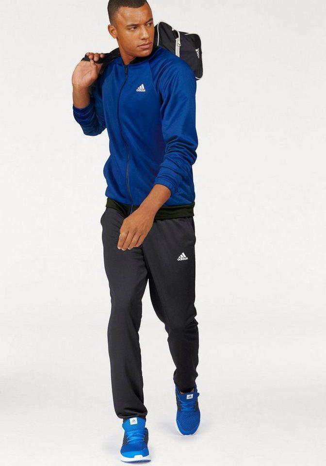 adidas Performance Trainingsanzug »COSY TRACKSUIT« in royalblau-schwarz