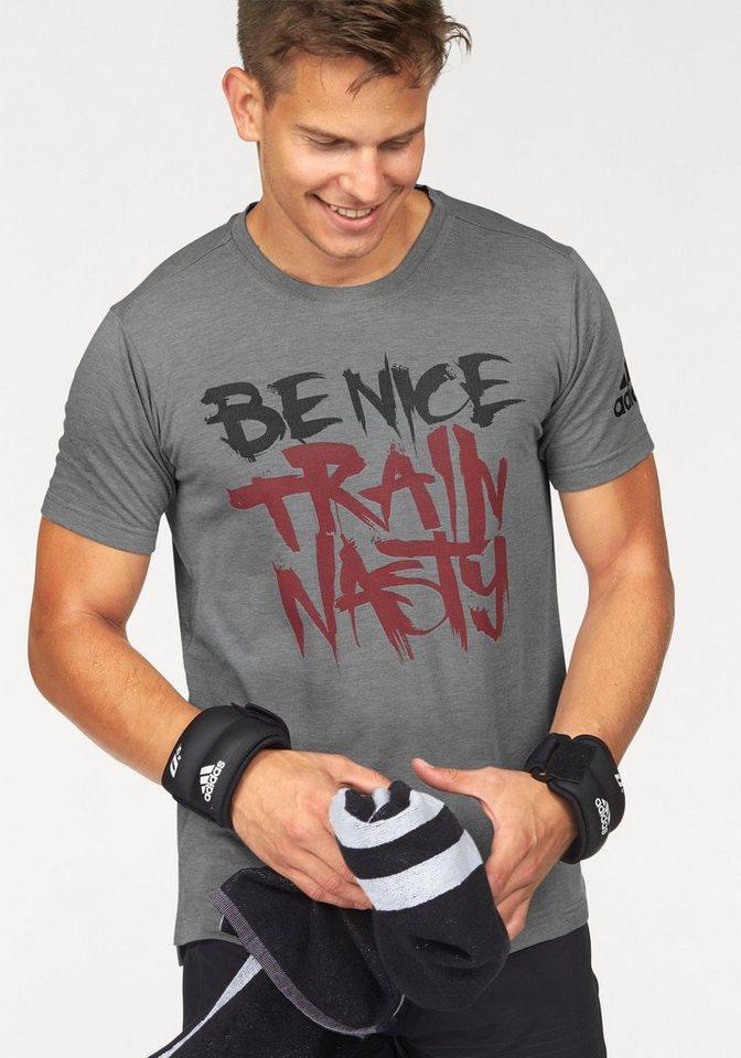 adidas Performance T-Shirt »FREELIFT TEE NASTY« in grau