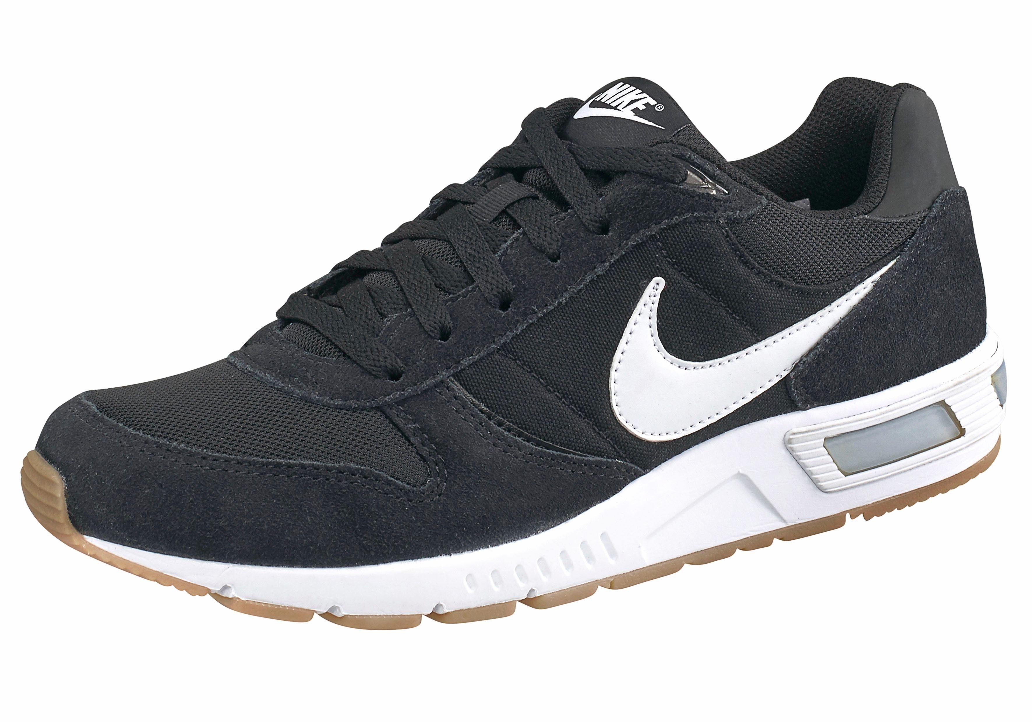 Nike Sportswear »Nightgazer« Sneaker, Atmungsaktives Obermaterial aus Leder und Textil online kaufen | OTTO