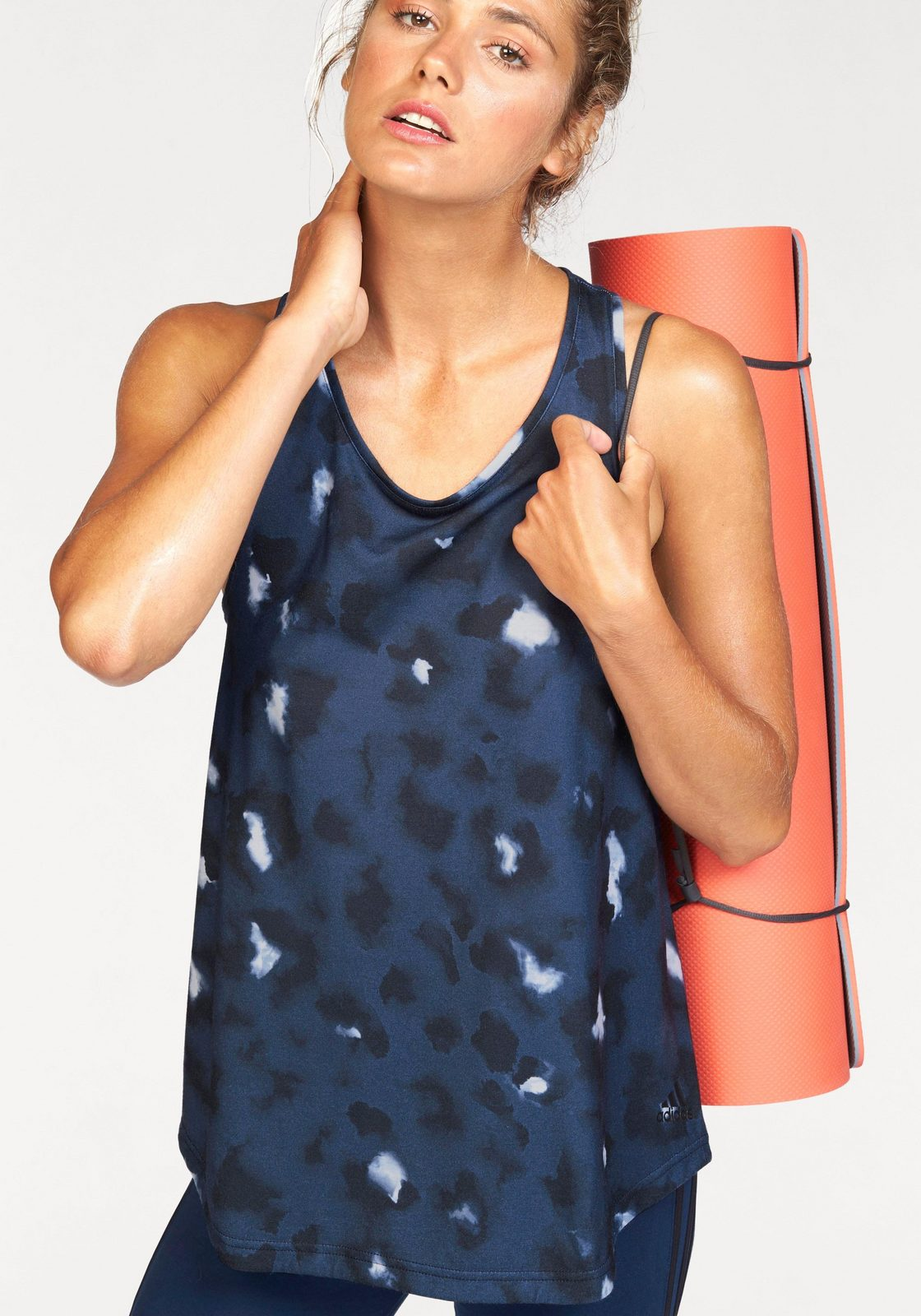 adidas Performance Tanktop »ESSENTIALS LOOSE TANK AOP«