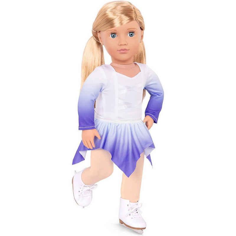 Our Generation Anziehpuppe »Deluxe Puppe Eiskunstläuferin Katelyn 46cm«