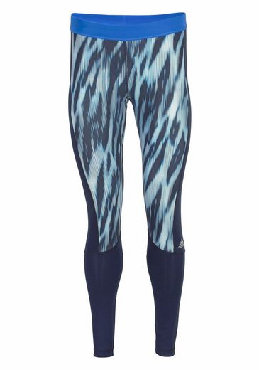 adidas Performance Funktionstights TECHFIT LONG TIGHT PRINT
