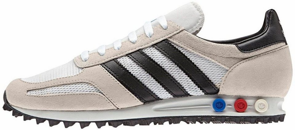 adidas Originals »LA Trainer« Sneaker in offwhite