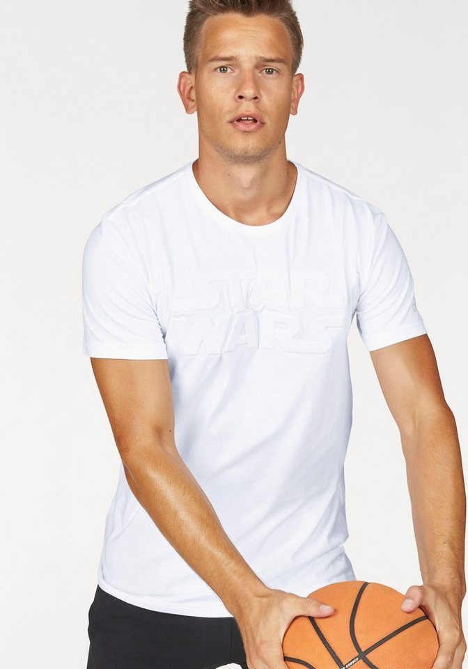 adidas Performance T-Shirt »STAR WARS« in weiß