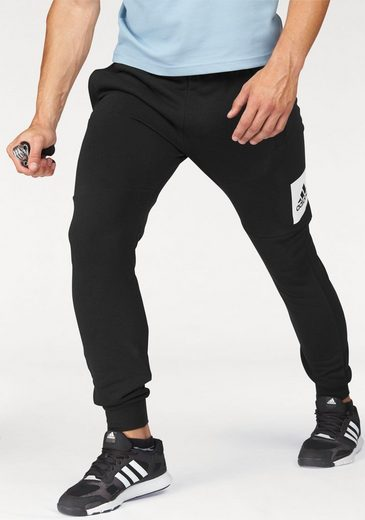 adidas Performance Jogginghose ESSENTIALS BOX LOGO SLIM TAPERED FRENCH TERRY PANT