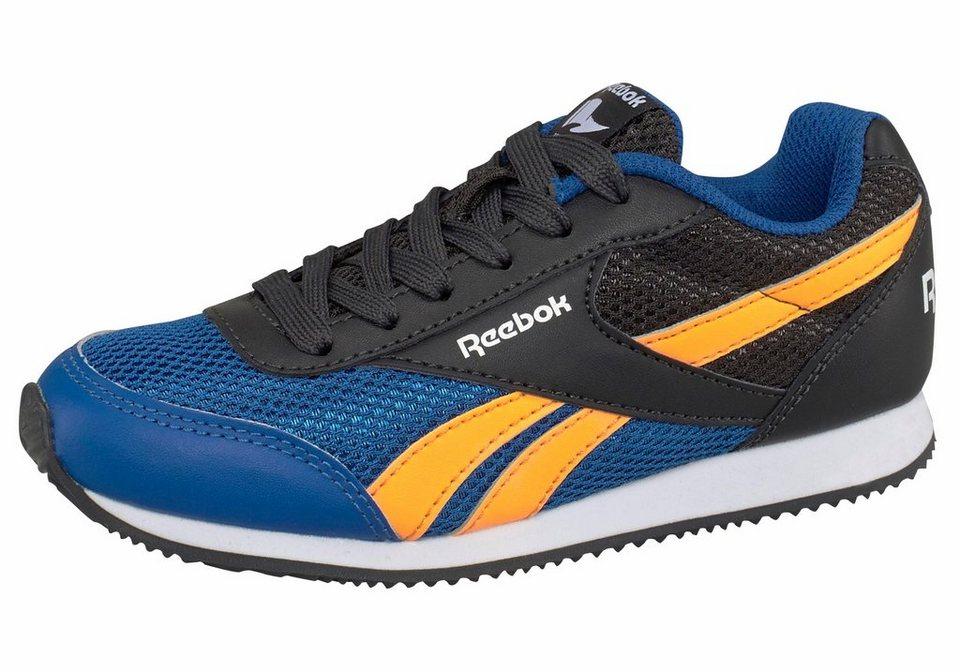Reebok »Royal CL Jog 2« Sneaker in blau-neonorange