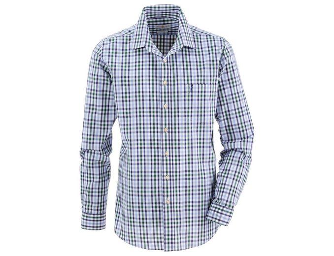Almsach Trachtenhemd im Karodesign Neueste Online g9MRKp