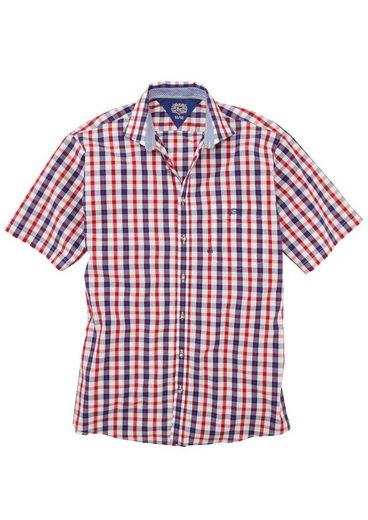 OS-Trachten Trachtenhemd mit kleiner Stickerei