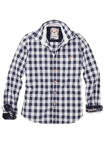 Stockerpoint Trachtenhemd mit großem Karomuster