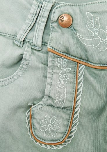 Marjo Costume Bermuda Women With Subtle Embroidery