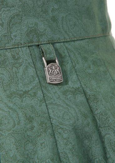 Hammerschmid Trachtenrock mit Paisley-Print