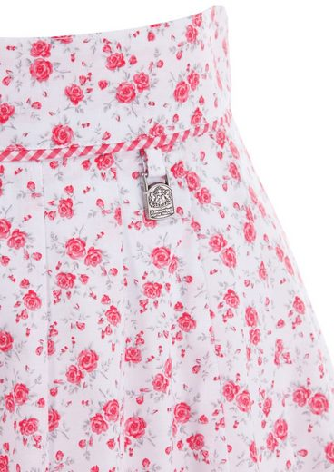 Hammer Schmid Costume Skirt With Roses-print