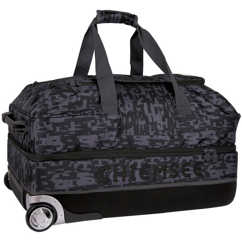 Chiemsee Sport 15 Premium Travel Bag Large 2-Rollen Reisetasche 73 cm in typo black