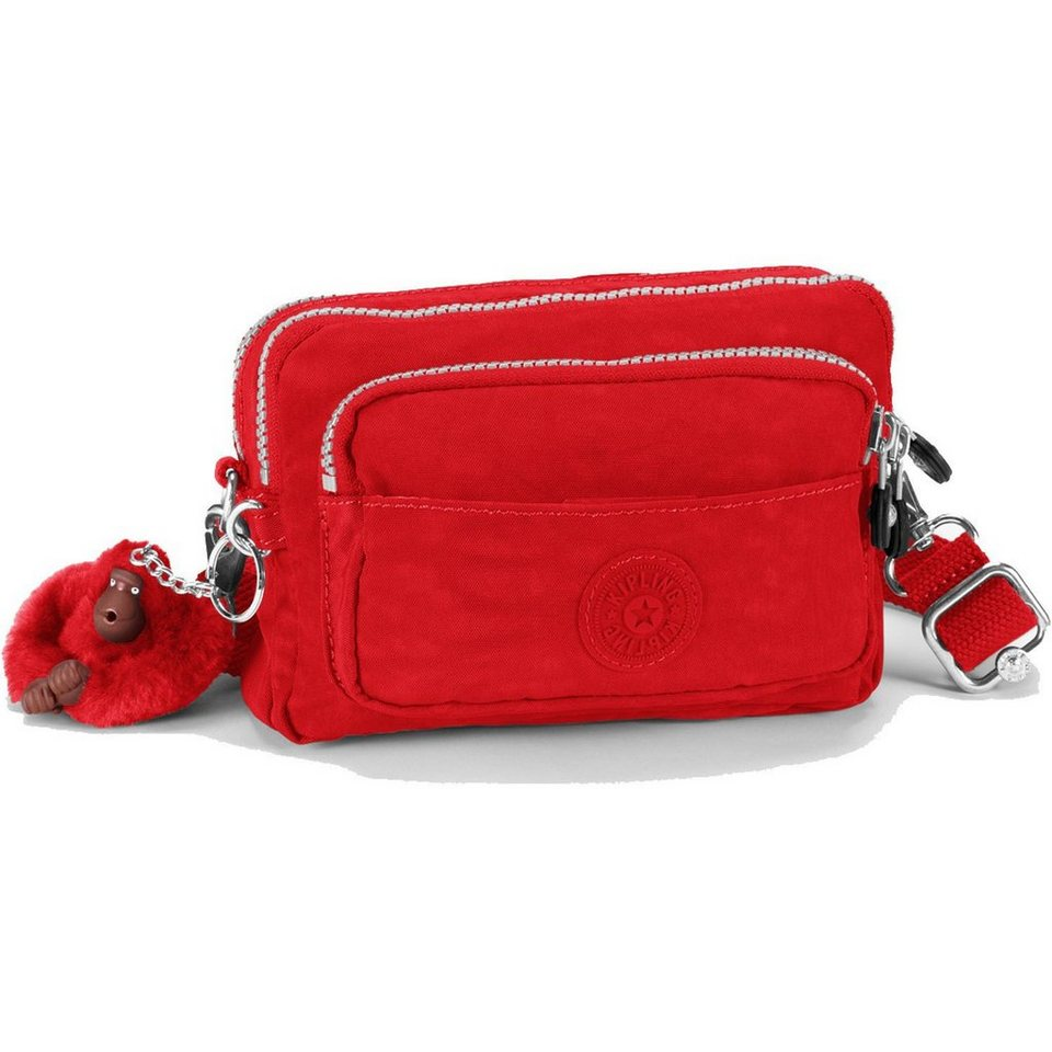 Kipling Basic Travel Multiple 15 Gürteltasche 20 cm in vibrant red