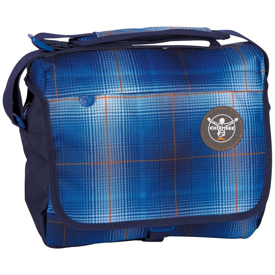 Chiemsee Sport 15 Shoulderbag Medium Umhängetasche 29 cm in plaid regatta