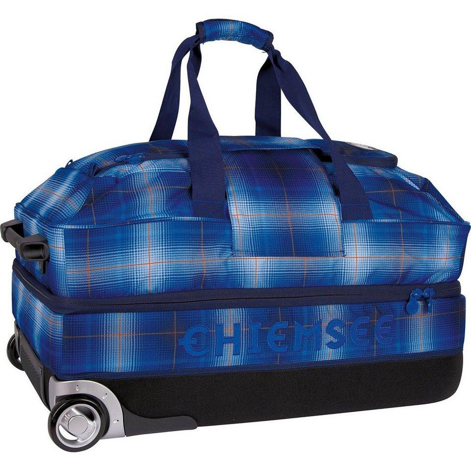 Chiemsee Sport 15 Premium Travel Bag Large 2-Rollen Reisetasche 73 cm in plaid regatta