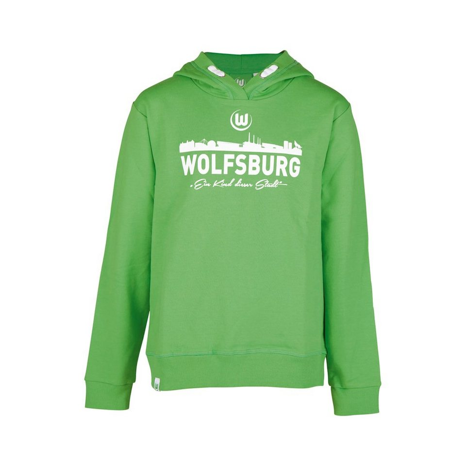 KAPPA Fan Artikel »VFL Wolfsburg Unbranded Sweatshirt für Kinder« in classic green