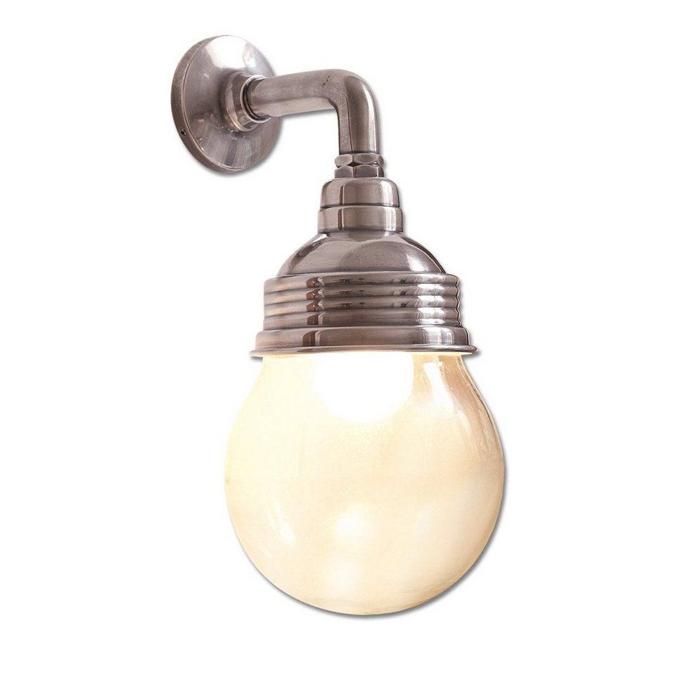 Loberon Wandlampe »Rubi« in antiksilber/klar