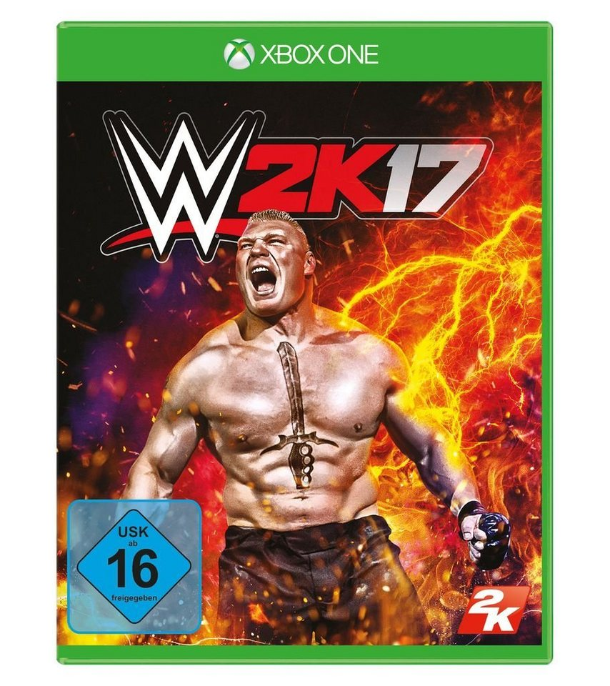 2K XBOX One - Spiel »WWE 2K17«