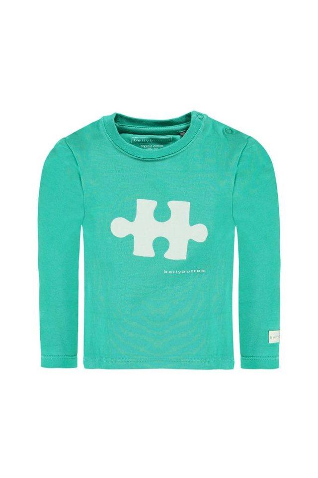 BELLYBUTTON Baby-Langarmshirt mit Motiv in atlantis