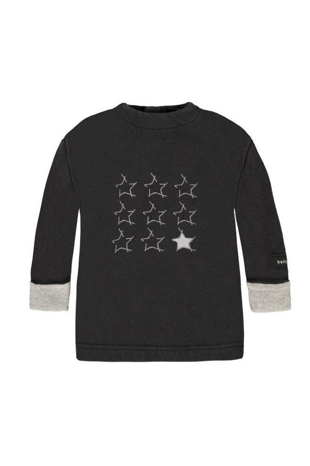 BELLYBUTTON Baby Sweatshirt mit Sternchen in phantom