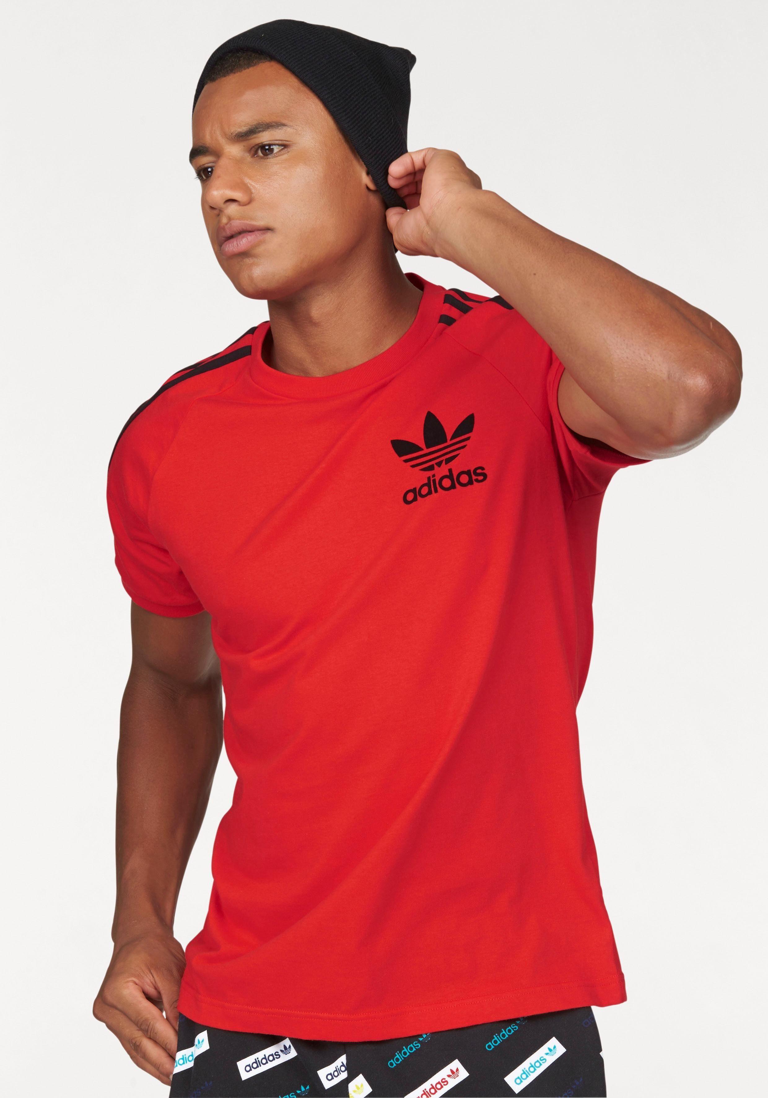adidas weinrot t-shirt