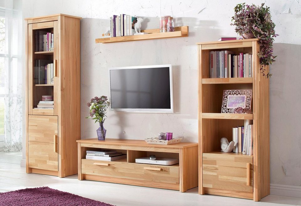 home affaire wohnwand bregenz 4 tlg kaufen otto. Black Bedroom Furniture Sets. Home Design Ideas
