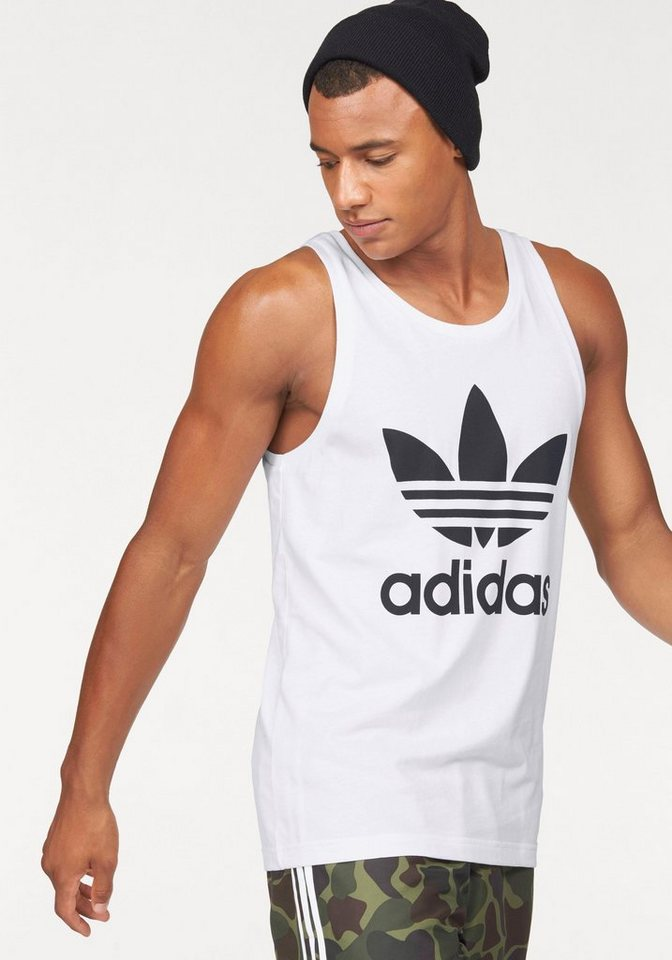 adidas Originals Tanktop »TREFOIL TANK« in weiß
