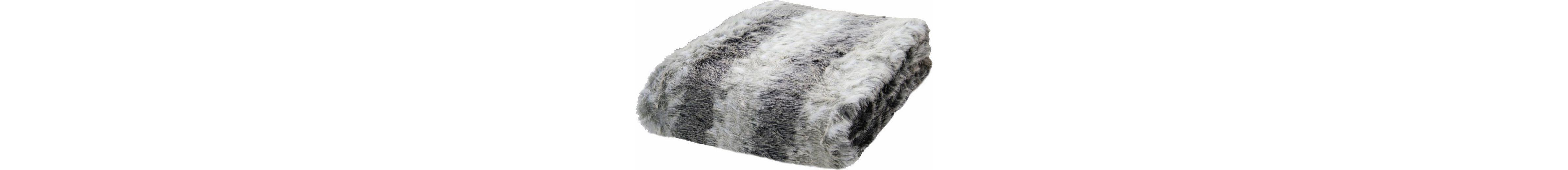 Wohndecke, Tom Tailor, »Fake Fur«, in Felloptik