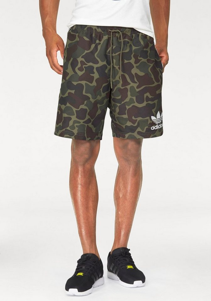 adidas Originals Shorts »CAMO BS« in khaki