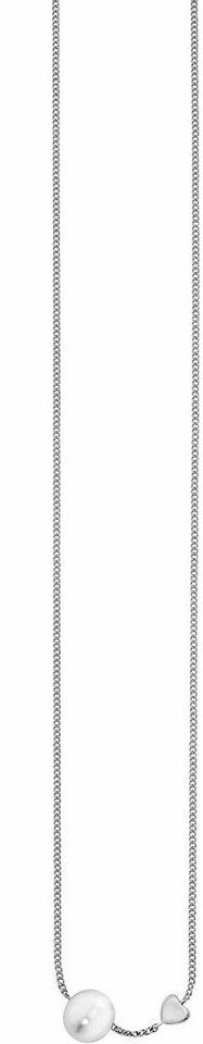 CAÏ Kette ohne Anhänger »Pearl Love, C7160N/90/46/39+5« mit Süßwasserzuchtperle in Silber 925-weiß