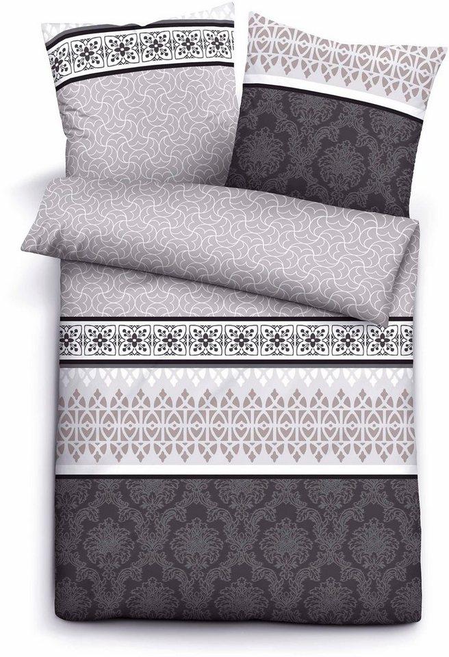 bettw sche biberna lucy mit verschiedenen ornamenten online kaufen otto. Black Bedroom Furniture Sets. Home Design Ideas