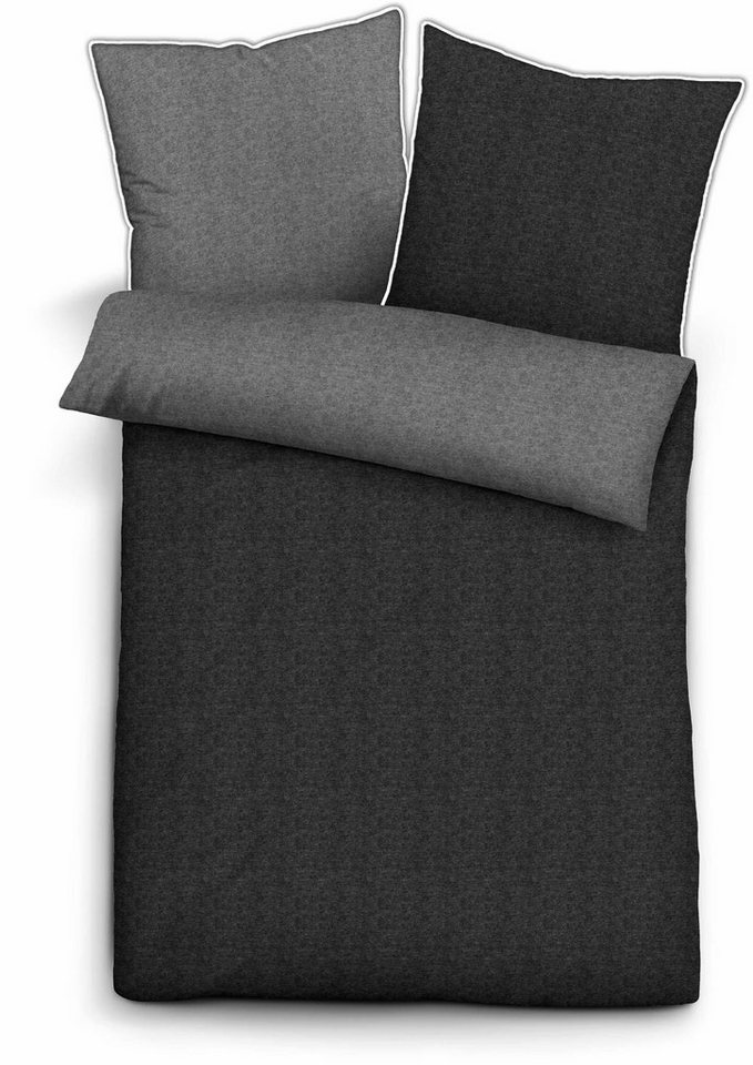 bettw sche 135 200 grau uni my blog. Black Bedroom Furniture Sets. Home Design Ideas