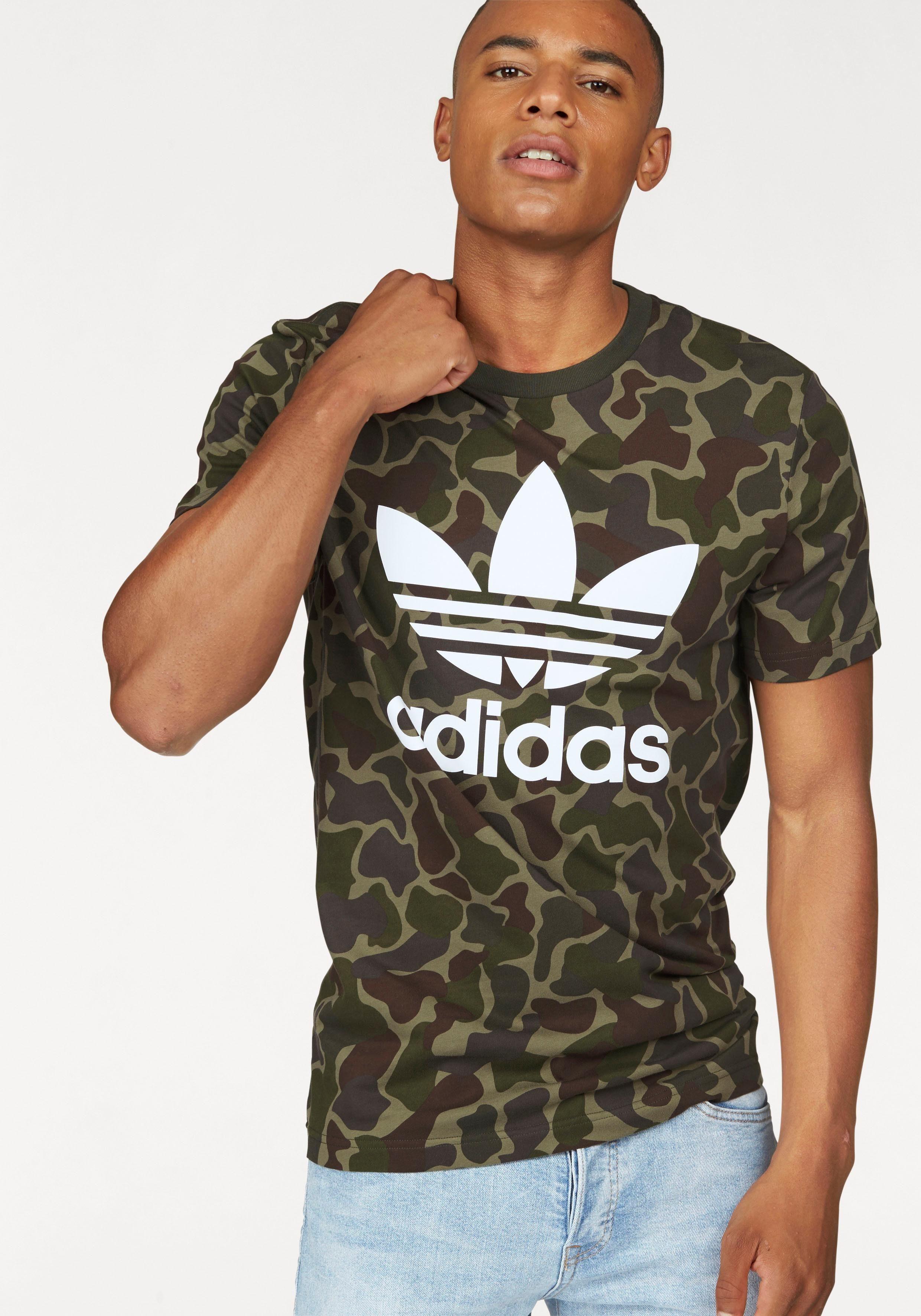 adidas t-shirt camouflage
