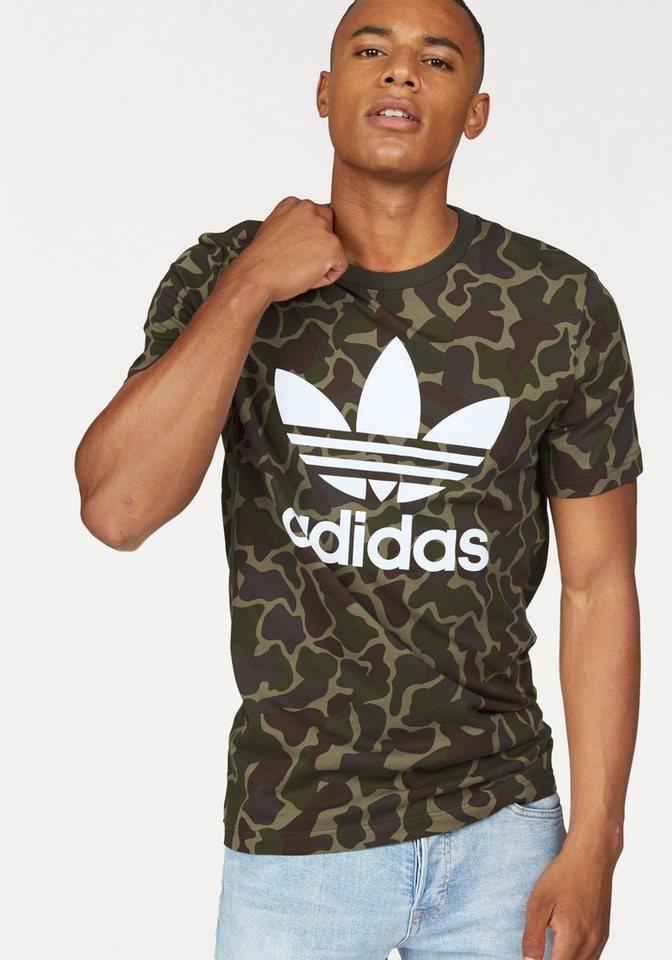 adidas Originals T-Shirt »CAMO TEE« in khaki