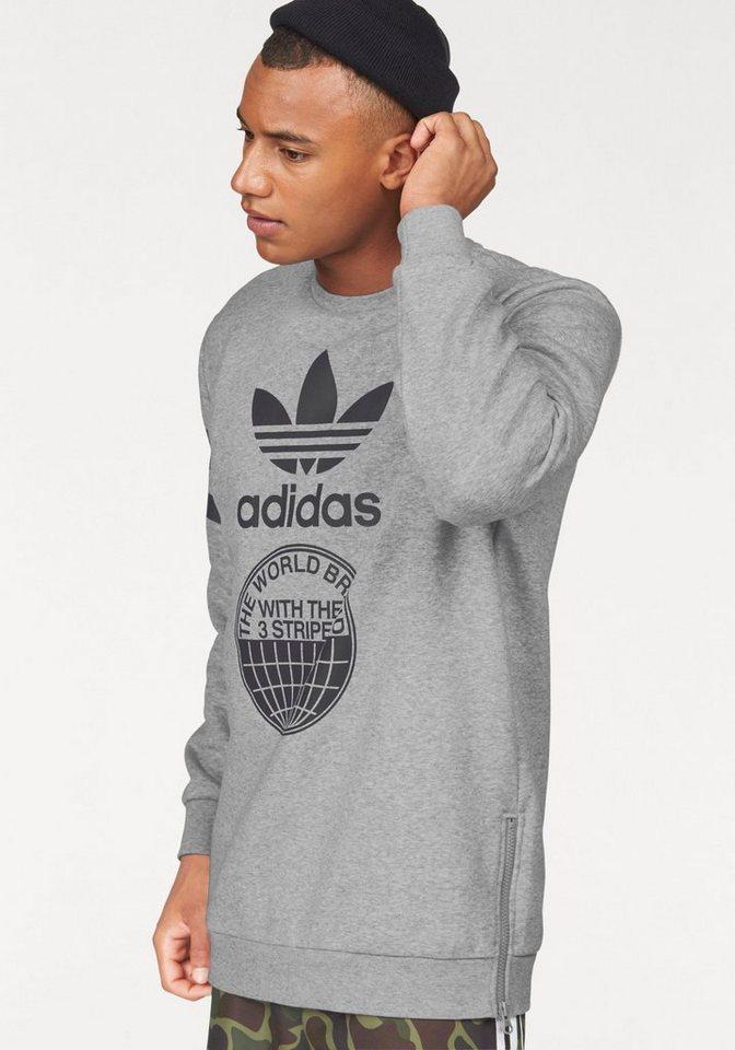 adidas Originals Sweatshirt »STREET GRAPH CR« in grau