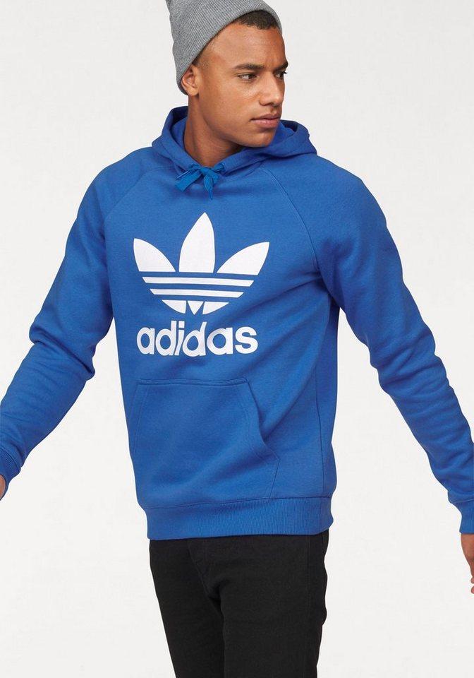 adidas Originals Kapuzensweatshirt in blau