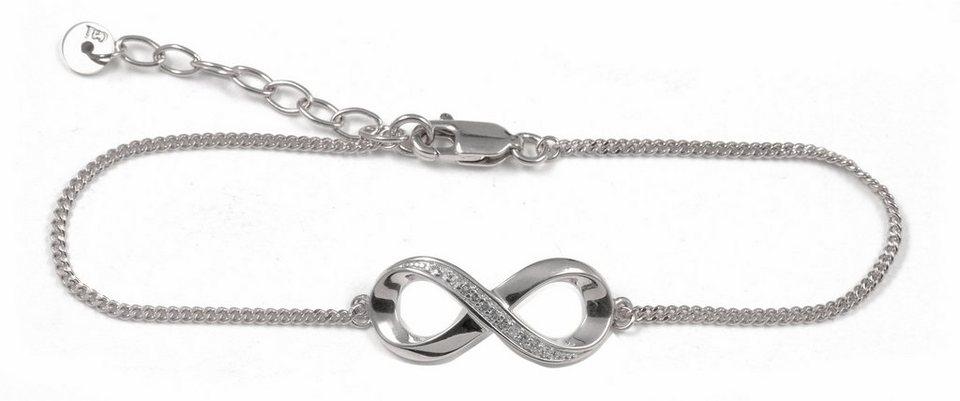 CAÏ Armband »Infinity, sensitive dancer, C1715B/90/93/20« mit Topas in Silber 925-weiß