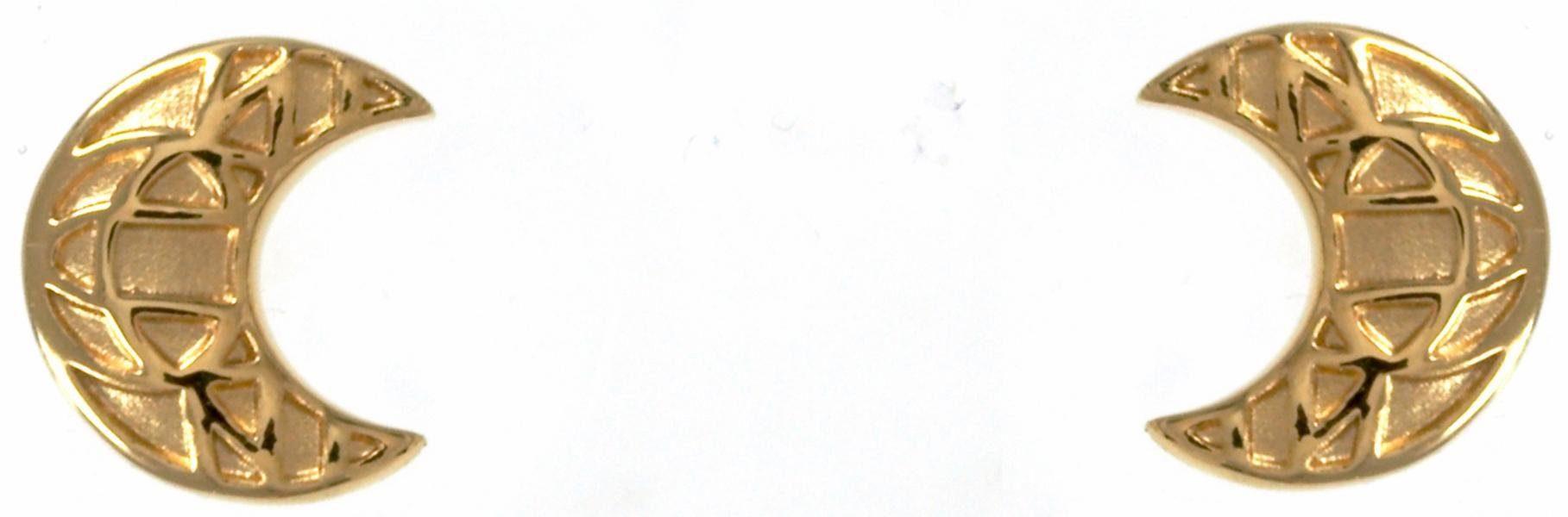 CAÏ Paar Ohrstecker »Mond, morocco nights, C1706E/90/00/«