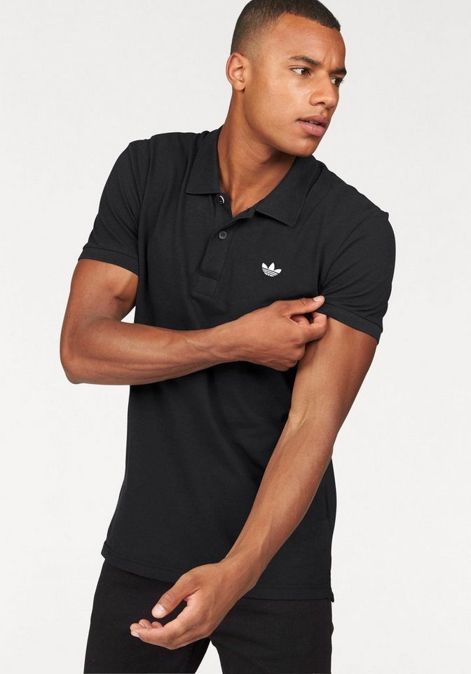 adidas Originals Poloshirt »ADI POLO« in schwarz