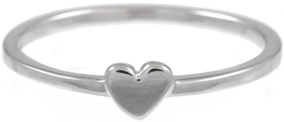 CAÏ Fingerring »Herz, Pearl Love, C7151R/90/00/« in Silber 925