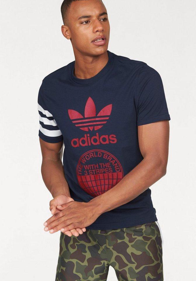 adidas Originals T-Shirt »STREET GRAPH T« in marine