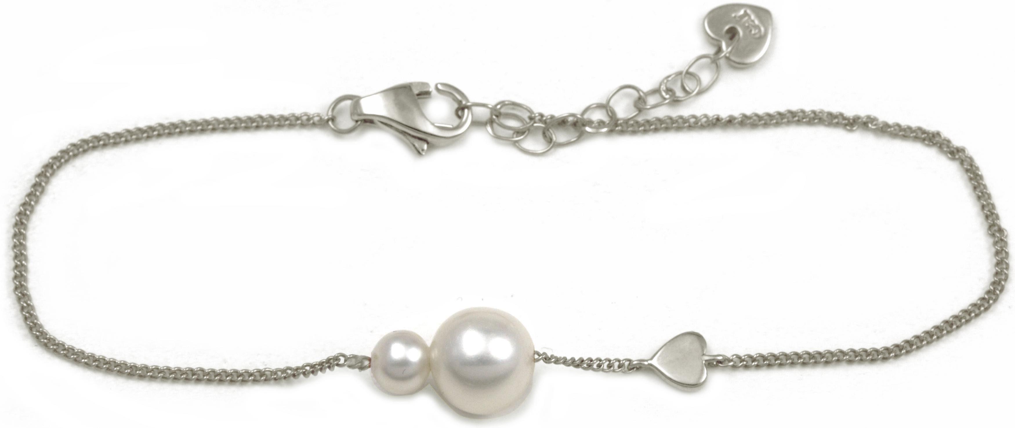 CAÏ Armband »Pearl Love, C7166B/90/46/16+3«, mit Süßwasserzuchtperle