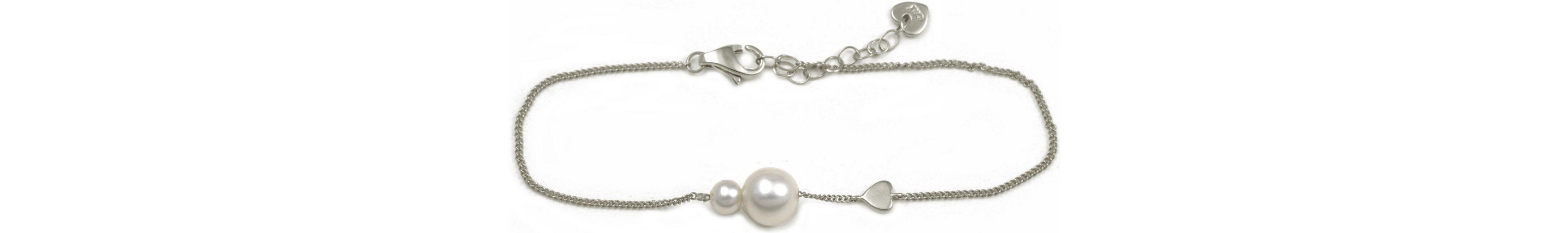CAÏ Armband »Pearl Love, C7166B/90/46/16+3« mit Süßwasserzuchtperle