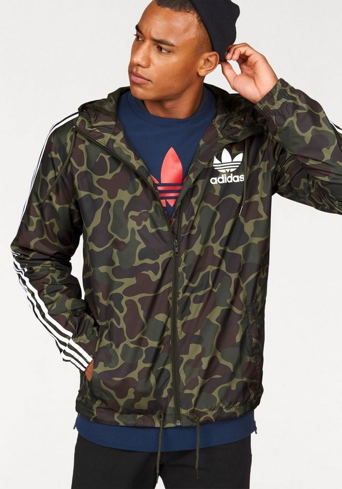 adidas Originals Windbreaker »CAMO WB« in khaki
