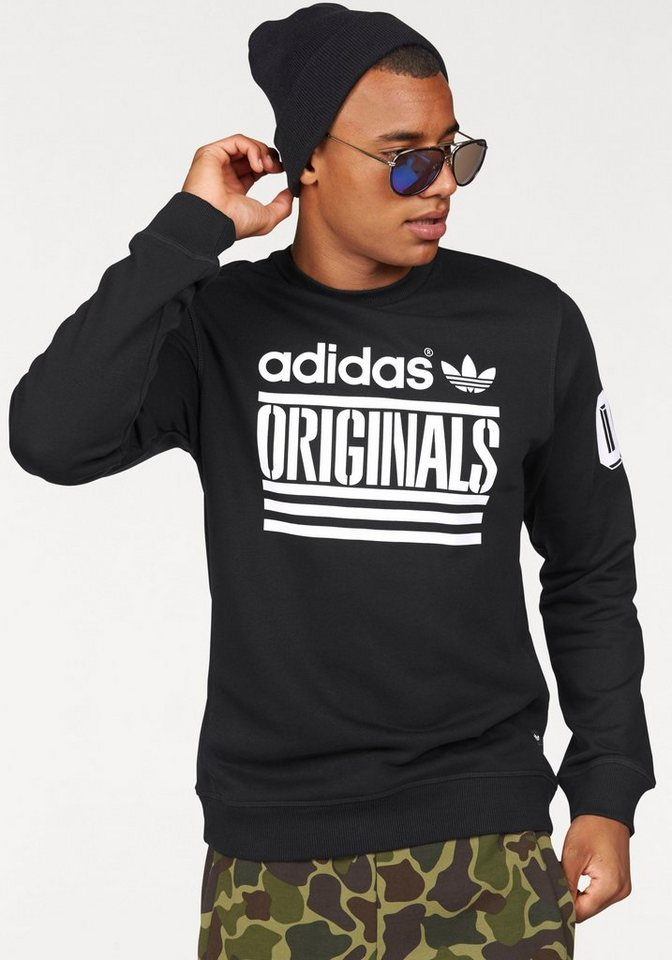 adidas Originals Sweatshirt in schwarz