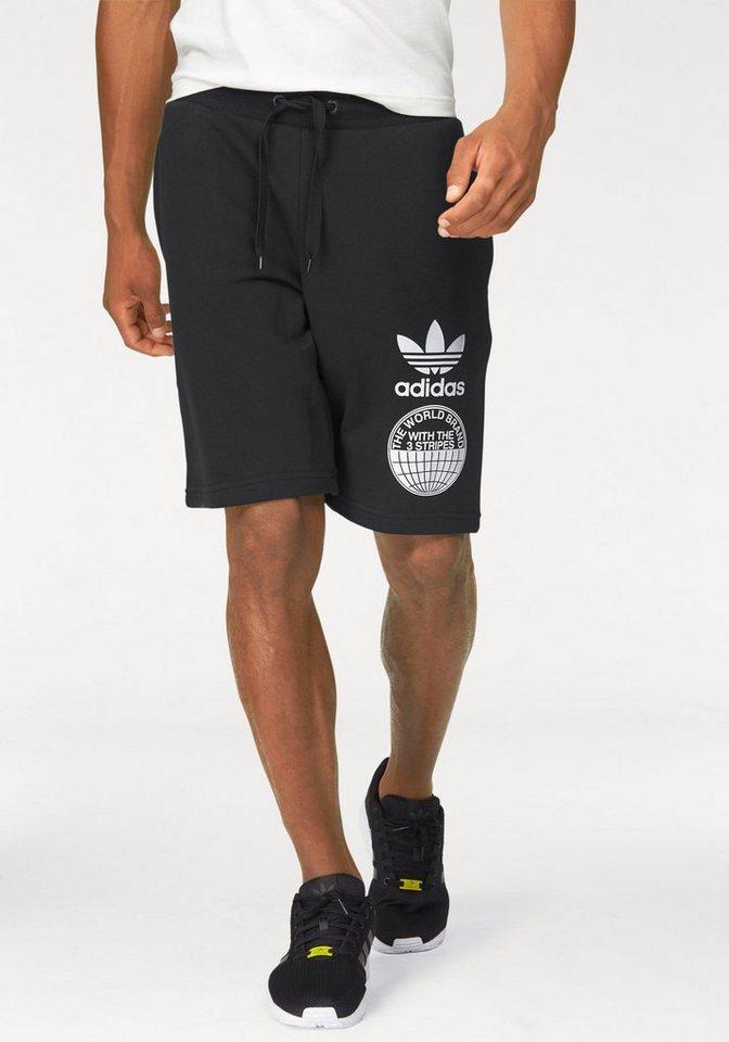 adidas Originals Shorts »STREET GRAPH S« in schwarz