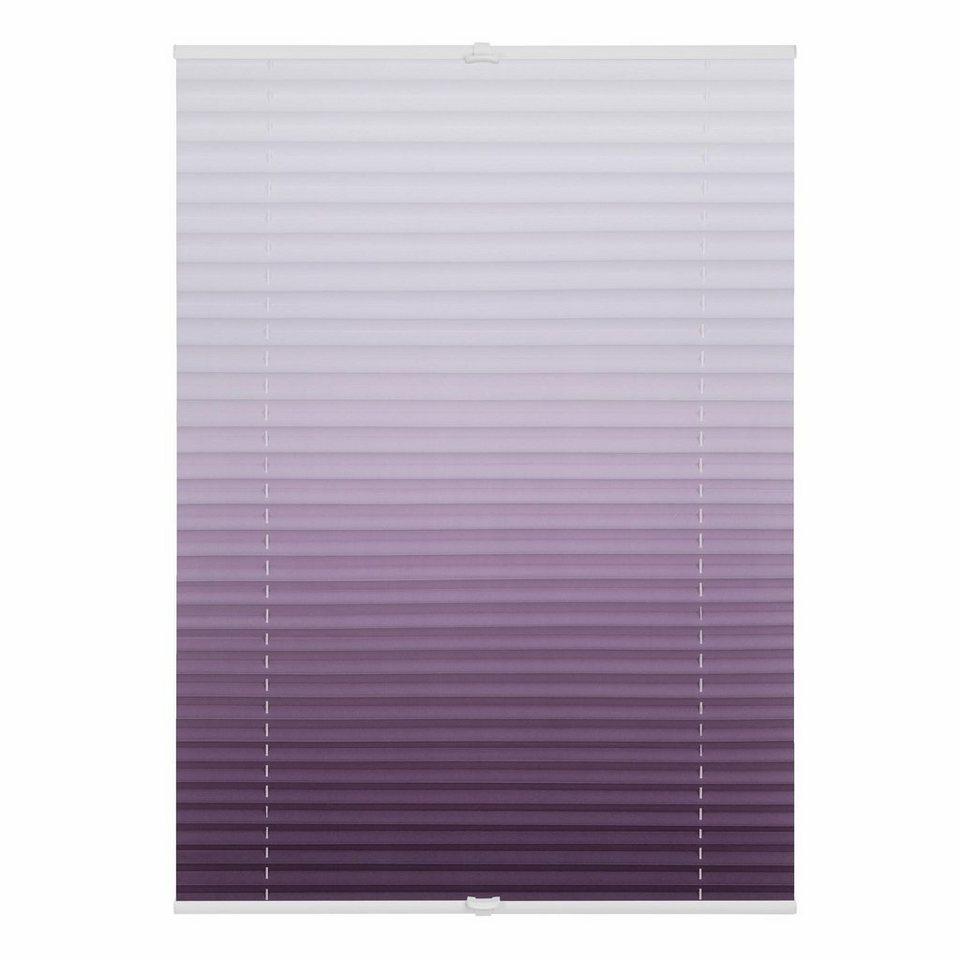 plissee klemmfix verspannt farbverlauf lichtblick lichtschutz ohne bohren verspannt online. Black Bedroom Furniture Sets. Home Design Ideas